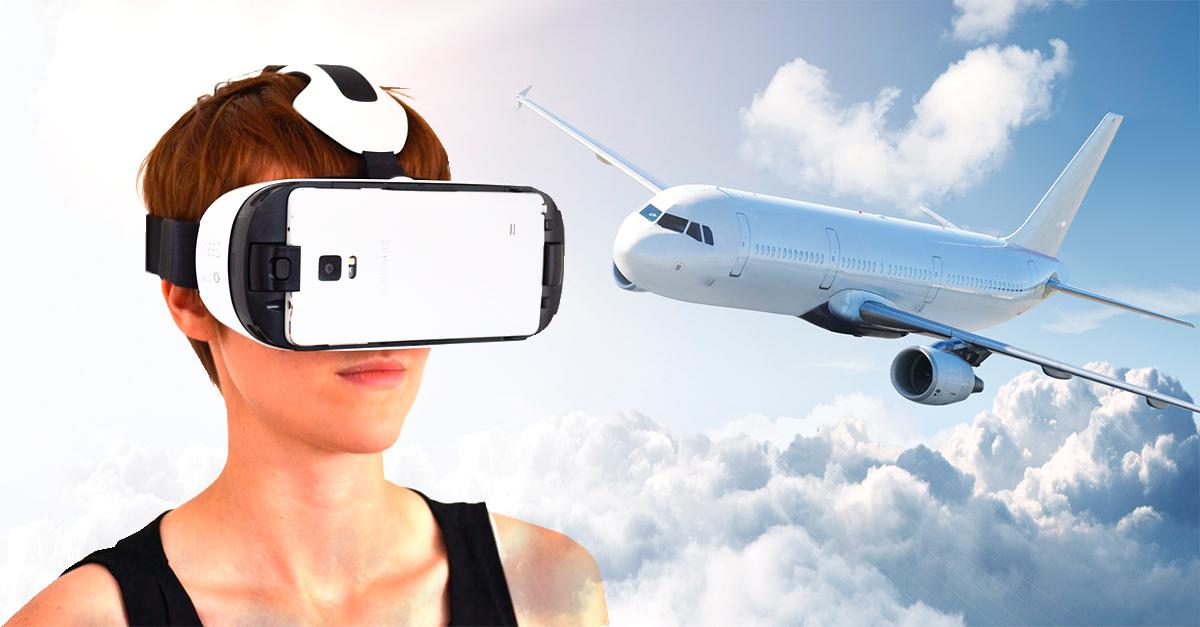 Resultado de imagen para curan fobia a volar con realidad virtual